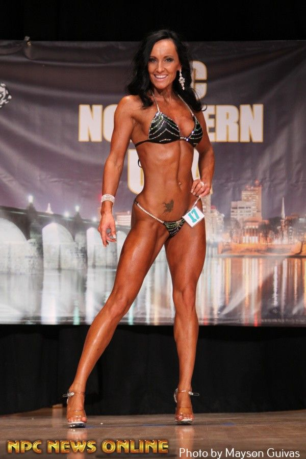 KINGA DROZDZ bikini class a second 2015 npc Northern USA
