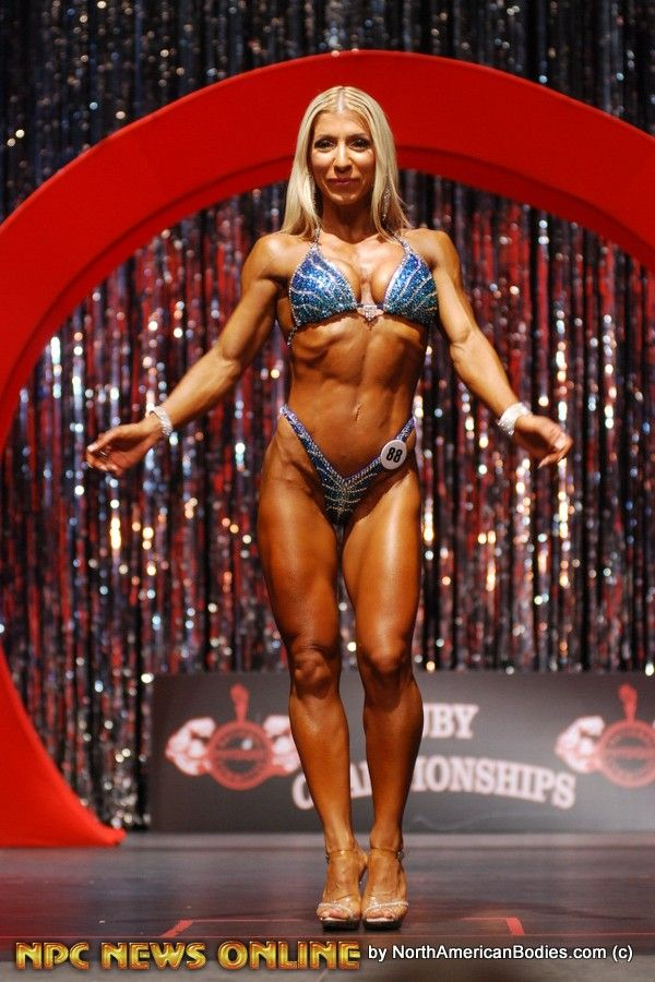 Tatiane Parker figure class a 2nd 2015 npc Ruby Championships