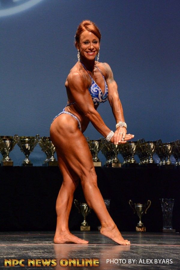 HOLLY JOY CAYIA Women's Physique Class A 1st Place - 2016 NPC Southern Classic