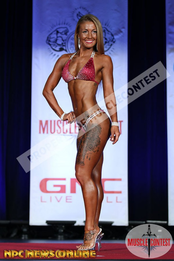 MEAHGAN MURPHY bikini overall 2016 NPC Western All Forces Championships