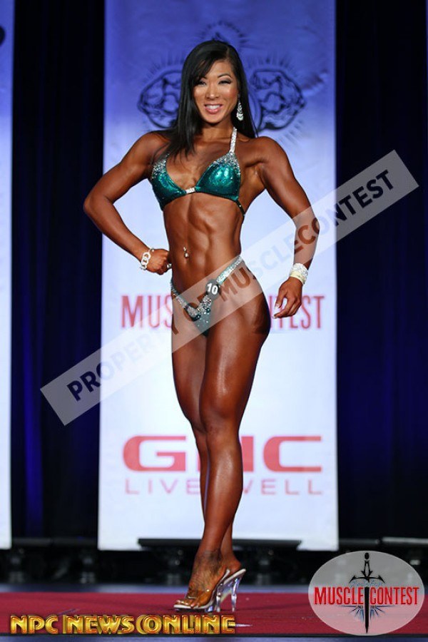 ALYSSA CROZIER figure overall 2016 NPC Western All Forces Championships