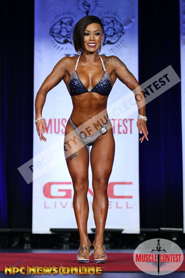 DIANA TOLOSA figure overall 2016 NPC Western All Forces Championships