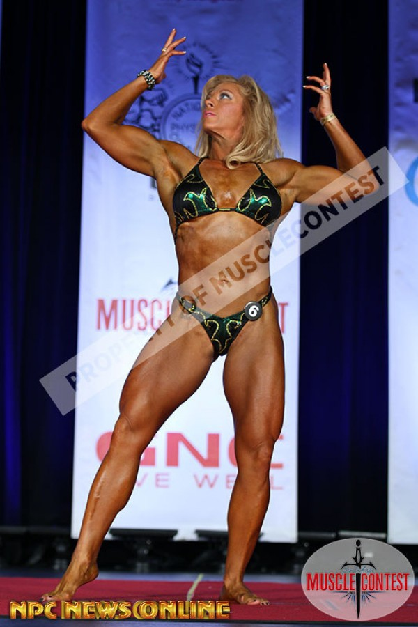 MORGAN MARTIN-JARRED Women's bodybuilding 1st place 2016 NPC Western All Forces Championships