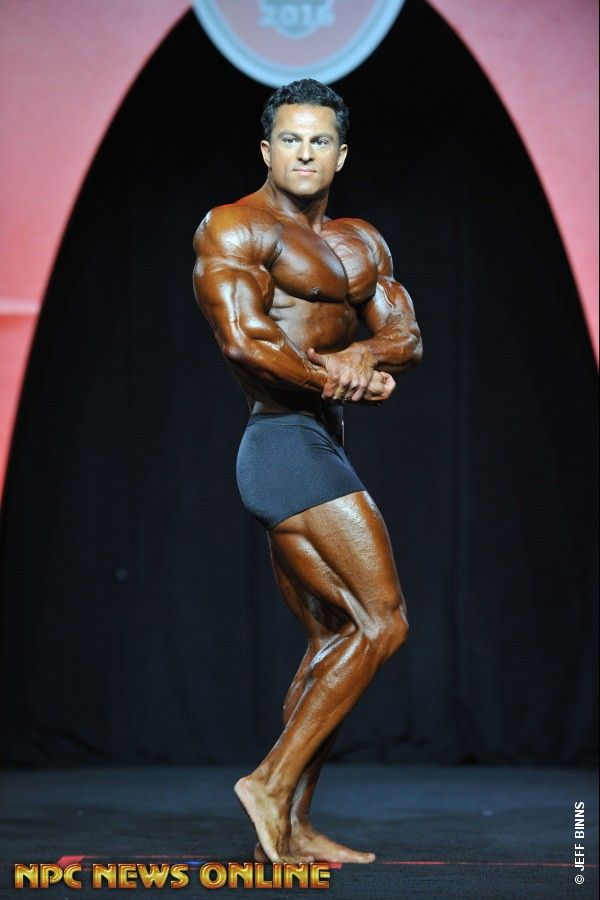 ARASH RAHBAR Men's Bodybulding overall 2nd 2016 IFBB Mr. Olympia