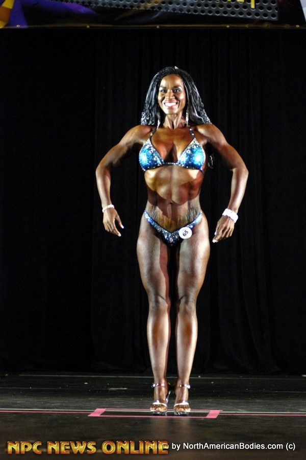 SHERLY MITCHELL figure class a second 2016 NPC Precision Fit Body Championships
