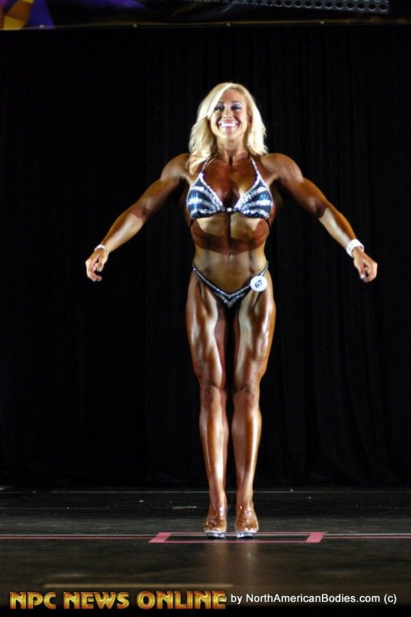 ASHLEY GODFREY figure class a overall 2016 NPC Precision Fit Body Championships