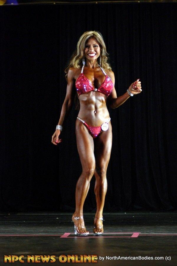 SOPHIA THAETER bikini overall winner 2016 NPC Precision Fit Body Championship