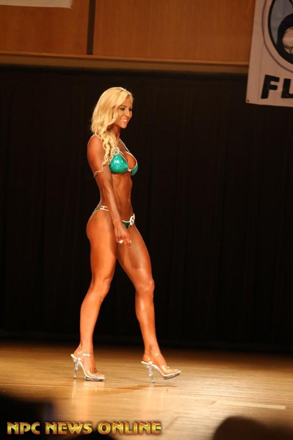 HANNAH JOHNSON bikini class a 2nd 2016 NPC Fort Wayne Flex