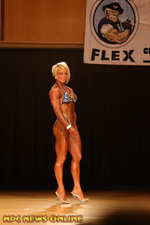 ANNIE GEORGE figure class a overall 2016 Fort Wayne Flex
