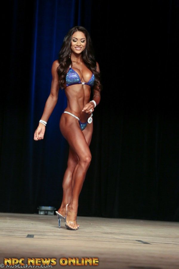 JANET LAYUG Bikini overall 2nd 2016 IFFB Fort Lauderdale Cup